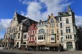 Ghent. Sint-Baafsplein Square