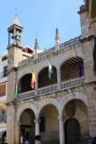 Plasencia. Ayuntamiento en la Plaza Mayor