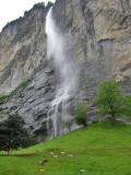 Lauterbrunnen. Staubbach Falls