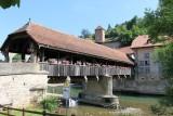 Fribourg/Freiburg. The Bern Bridge