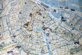 Map of Central Amsterdam