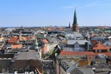Copenhagen.  View from The Round Tower (Rundetaarn)