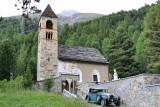 Pontresina. Church of Santa Maria