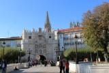 Burgos. Puerta de Santa Maria