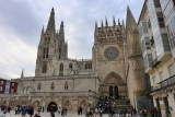 Burgos  Cathedral. Eastern Façade