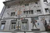 Luzern. Zunftrestaurant Pfistern
