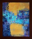 Blue Bridge  27x33
