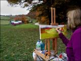 Artist at Jenne Farm