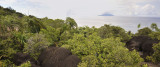Landscape around Anse Major.