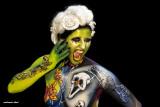 world body painting festival Austria