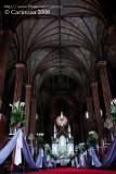 Vaulted ceiling / Main altar