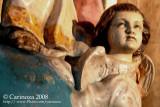 Detail: Sacred Heart statue