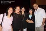 Alumni Jun Keithley and family
