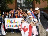 Pinoy & Canadian youth delegates