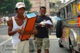 Road Vendors ... meets Road Photographer!  :-)