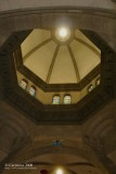 Domed roof and balcony over the altar