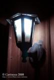Nightlamp at entrance with flying termites (eek!)  :-@