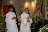 Msgr. Moises B. Andrade Jr., H.P. spreads incense at the Marian Exhibit