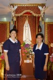 CWL Officers with the Our Lady of Fatima Image