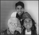 Brothers with great-gran