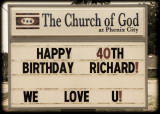 Richard's 40th Birthday Party