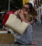 Girl on phone - Seville