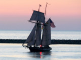 Tall Ship Entering Collingwood Harbour - Aug 16, 2013
