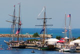3 Ships in Collingwood Harbour - Aug. 17, 2013