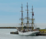 Norwegian Tall Ship in Collingwood Harbour  - Aug 2013 B