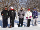 Probus Mountainview - Snowshoe Group Jan 22, 2014 around Collingwood Harbour