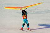 Kite Skiing on Collingwood Harbour 2 - Mar. 8, 2014