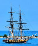 US Tall Ship Niagara in Collingwood Harbour