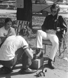 Shoe Polishing for the United Appeal Campaign