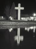Simcoe Christmas Lights Display - Cross