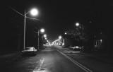 Simcoe - Norfolk St. S. at night