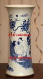 106 Antique Chinese Erotic Gu vase, Transitional period 明晚期春宫图花觚