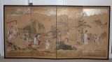108 Antique Japanese painting screen, Kano School, 1820 日本狩野派古画