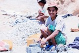Working Malagasy People