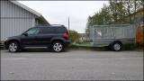 Yeti with trailer