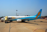 Jetlite Boeing 737/800 WL, VT-SJG, at Dabolim
