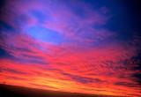 Mountain Winter Sunset