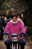 Chinese Girls on a Bike