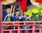 The Moving Shrine Drummer Boys