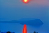 When the Sun Sets Over the Yugoslavian Coast