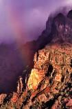 Raibow on a Mountain