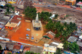 Indu Temple From Above, Garbage Included...