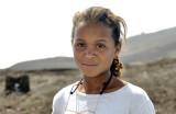 The Intelectual Girl In the Lava Landscape