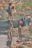 Bathing In The Garbage Dump River