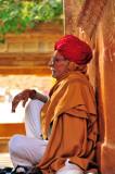 Meditating Old Gentleman
