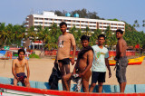 Conspicuous Indian Teens On The Beach, Showing Off...